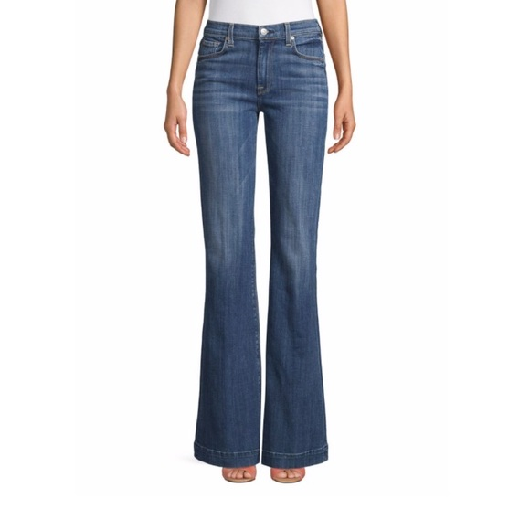 7 For All Mankind Denim - 7 For All Mankind Ginger Flared Jeans